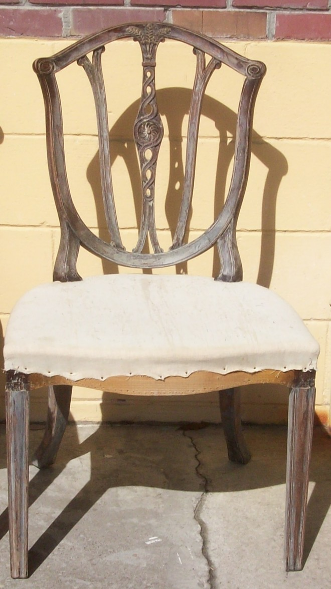 heppelwhite shield chair