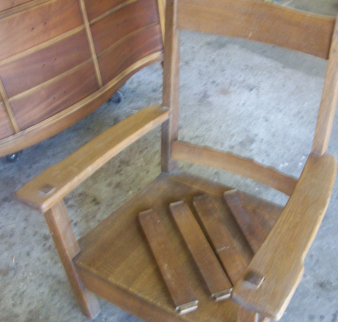 Mission Chair Refinish